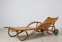 Rattan, wicker, bamboo and papercord in 20th C furniture