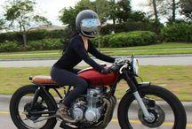 Girl's Biker