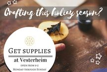 Holiday Crafting & Gift Making with Vesterheim