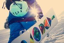 Snowboarding<3