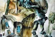 Tüttő József / Tüttő József festőművészről el lehet mondani, hogy korunk egyik olyan alkotója, kinek már szignóznia sem kellene festményeit, hisz egyetlen ecsetvonásáról felismerhető