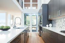 Black kitchens