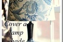 LAMPSHADES how to cover