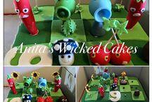 Plants v Zombies cake