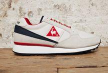 RETRO RUNNING ECLAT 1985 LE COQ SPORTIF / La retro running Eclat, modèle phare du coq sportif, est conçue en 1985 pour la pratique du running. Cette chaussure emblématique est rééditée pour la saison Printemps/Été 2014. http://lesgarconsenligne.com/2014/03/19/le-coq-sportif-la-retro-running-eclat-1985/