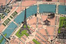 maps / by Wendy Smith Sandvig