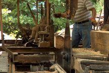 Træ møbler