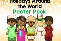 Preschool-Holidays Around the World