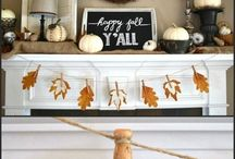 Home decor - fall