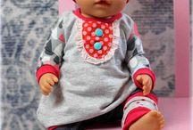 Nähen für die Puppe