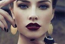 make-up and hair