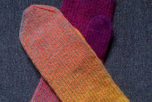 Knitting for the hands and feet