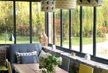 veranda verriere exterieur salle a manger