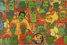 Raul Martinez - Cuban agitprop-pop art / One of the best pop artists no one has ever heard of.