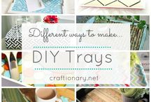 Tray Inspirations / Dreaming about a custom made tray for breakfast and snacks