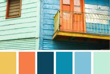 Coastal Color Palettes