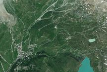 Ski resorts from space