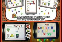 Early Literacy Center Ideas