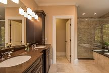 Bathroom ideas / Master bathroom and guest bathrooms