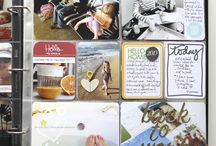 Project Life/Scrapbooking/Inspiration / Scrapbooking