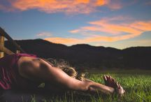Gutes Leben & Yoga / Gesunder Lifestyle, innere Schönheit & Yoga
