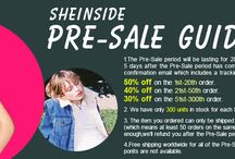 SheInside Pre-Sale / by SheInside
