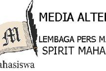 LOGO / lembaga pers mahasiswa spirit mahasiswa universitas trunojoyo madura