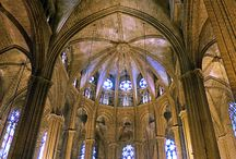 Stained glass, Cathedrals and such.. / by Debbie Talani