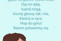 Piosenki wierszyki
