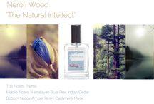 "Neroli Wood - Tulip Perfume / ""The Natural Intellect"" top notes:  neroli   notes:  himalayan blue pine, indian cedar  bottom notes: amber resin, cashmere musk"