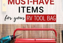 RV Must-Haves / RV Must-Haves are everything you need for your RV!  Ideas for every area of your RV life.  These RV must have products that you don't want to be without. I wouldn't go anywhere without my RV must have camping accessories. Find more right here!