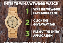 WeWOOD Giveaways / by WeWOOD USA