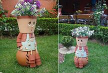 Flower pot men