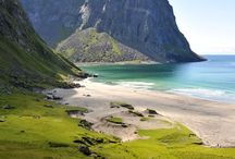 Lofoten Islands Norge / beautiful places in Lofoten Islands. places and beaches and mountaintops we visited in July 2017