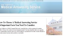 How To Choose A Medical Answering Service