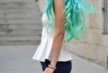 Unusual hair