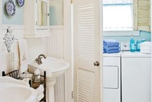 Combining a Bathroom and a Laundry / A combined bathroom and laundry is a good idea in maximizing the little space that you have in your home.