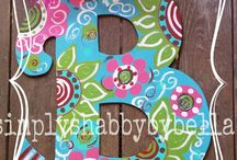 Crafts.. Funky Letters