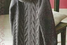 poncho, suéter