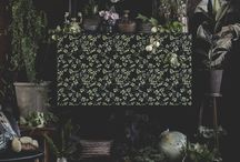 Virginia Nightall - Självhäftande fronter för Ikeamöbler (Höstkollektion 2017)