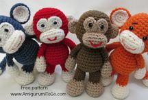 Haken poppen en beesten apen