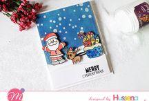 Christmas Card Ideas with Mudra