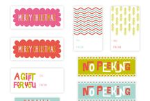 Christmas Printables / Printable Christmas gift tags, signs, games and more. / by Clever PinkPirate