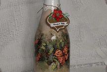 Бутылки|Идеи оформления