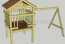 Play houses & swing sets