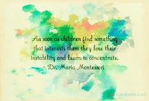 Montessori quotes and wall art