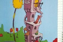 Dr Seuss / Dr Seuss cityscape inspirations for student creative practice
