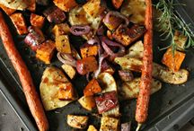 vegetables rustic