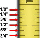 "Quilt ""Ruler"" measurements"
