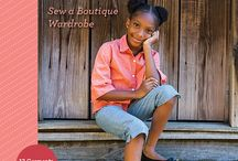 Modern Style for Girls / Modern Style for Girls: Sew a Boutique Wardrobe, available October 2015 from Stash Books, an imprint of C&T Publishing